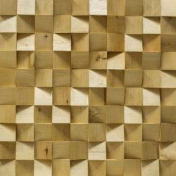 Деревянная мозаика Арабеско Вулкано 3D Береза